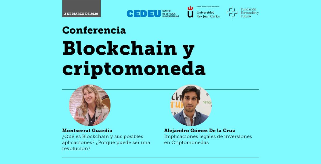 Conferencia: Blockchain y Criptomoneda
